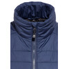 axant Alps Quilt Vest Women dark blue